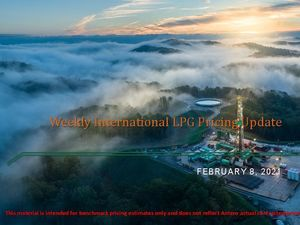 Weekly International LPG Pricing Update