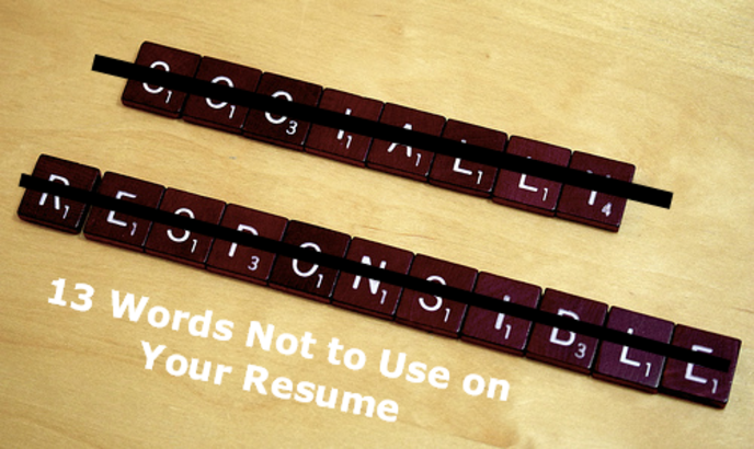 13 words not to use in your resume omni one