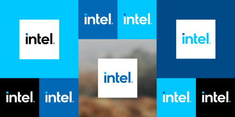 Intel makes a leap into the future on Sept. 2, 2020, with a transformed Intel brand that reflects the company's essential role in creating technology that moves the world forward. (Credit: Intel Corporation)