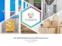 Citi 2020 Global Property CEO Conference