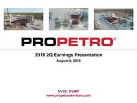 2018 Q2 Earnings Presentation