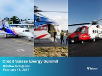 The 2017 Credit Suisse Energy Summit