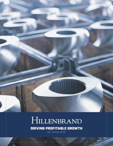 Hillenbrand, Inc. 2017 Annual Report Thumbnail