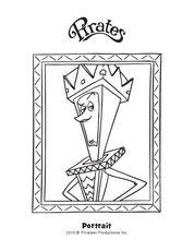 Queen Conformia Coloring Page