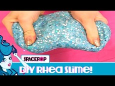 Make Rhea Glitter Slime