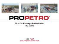 2018 Q1 Earnings Presentation