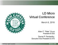 LD Micro Virtual Conference