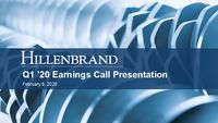 First Quarter 2020 Earnings Conference Call