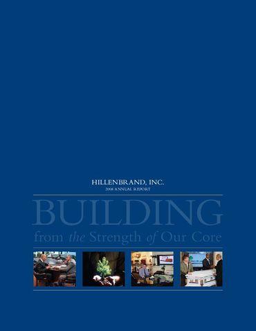 Hillenbrand, Inc. 2008 Annual Report Thumbnail