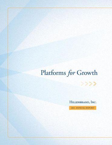 Hillenbrand, Inc. 2011 Annual Report Thumbnail
