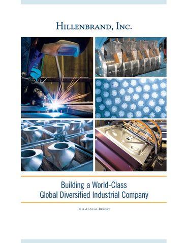 Hillenbrand, Inc. 2014 Annual Report Thumbnail