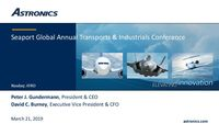 Seaport Global Annual Transports & Industrials Conference