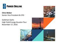 Goldman Sachs High Yield Energy Houston Tour