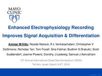 Enhanced Electrophysiology Recording Improves Signal Acquisition and Differentiation