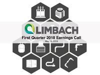 First Quarter 2018 Earnings Call Presentation