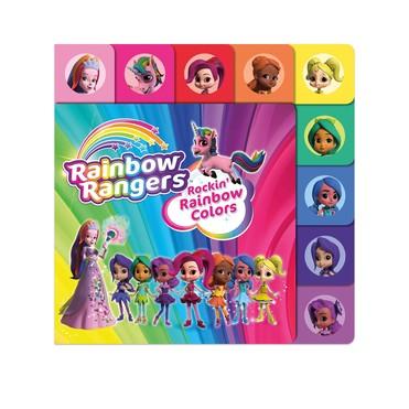 Rainbow Rangers Book:Rockin' Rainbow Colors