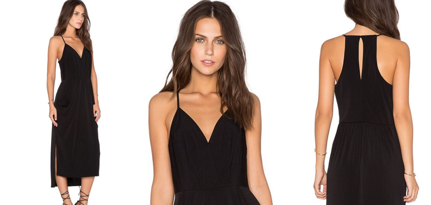 REVIEWERS SWEAR BY THIS LITTLE BLACK DRESS