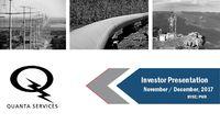 Nov. / Dec. 2017 Investor Presentation