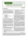 August 2004 Newsletter