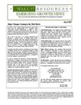 April 2007 Newsletter