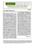 June 2007 Newsletter