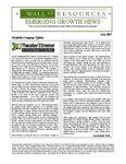 July 2007 Newsletter