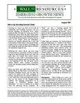 August 2007 Newsletter