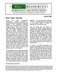 January 2008 Newsletter