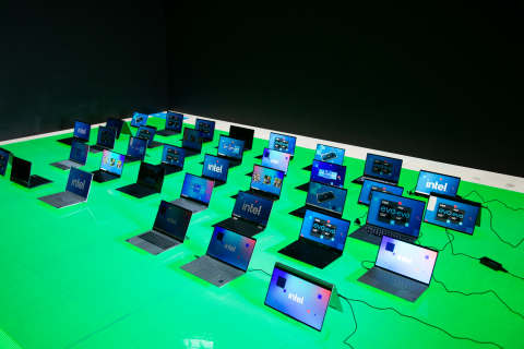 """At CES 2021, Intel introduces four new families of processors -- from entry to premium -- that include 27 new CPUs built specifically for business, six new CPUs for education, 12 high-performance mobile CPUs, and eight high-performance desktop CPUs. The result is more than 500 new designs for laptops and desktops that will come to market in 2021. As part of the all-virtual CES 2021, Intel makes clear that now is the time to """"Go and Do Something Wonderful."""" (Credit: Intel Corporation)"""