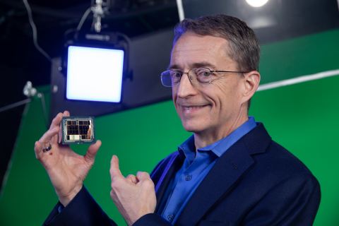 """During recording of the """"Intel Unleashed: Engineering the Future"""" webcast, Intel CEO Pat Gelsinger highlights"""