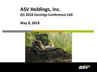 ASV Q1 2018 Update Slides