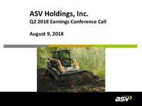 ASV Q2 2018 Update Slides