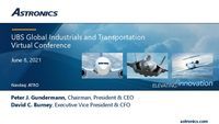 UBS Global Industrials and Transportation Virtual Conference