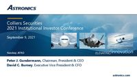 Colliers Securities Investor Conference 2021