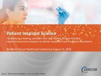 2020 Wedbush PacGrow Healthcare Virtual Conference