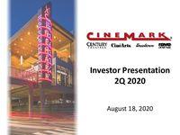 Investor Presentation - Q2 2020