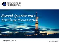 Second Quarter 2017 Earnings Presentation