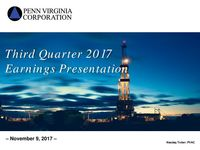 Third Quarter 2017 Earnings Presentation