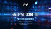 Intel's 2019 Investor Meeting – Murthy Renduchintala