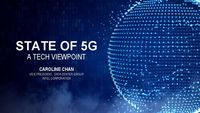 5G and the Next Wave of Telecom Infrastructure Conference – Caroline Chan