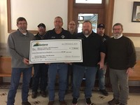Antero Donates $7,700 to support Monroe County Emergency Services