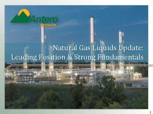 Natural Gas Liquids Update: Leading Position &…