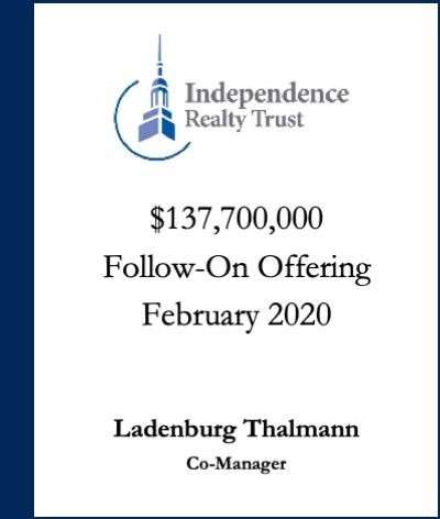 Independence Realty Trust