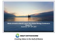 Bank of America Merrill Lynch 2019 Global Energy Conference