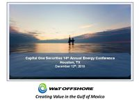 Capital One Securities 14thAnnual Energy Conference