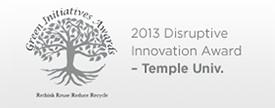 Temple University Award
