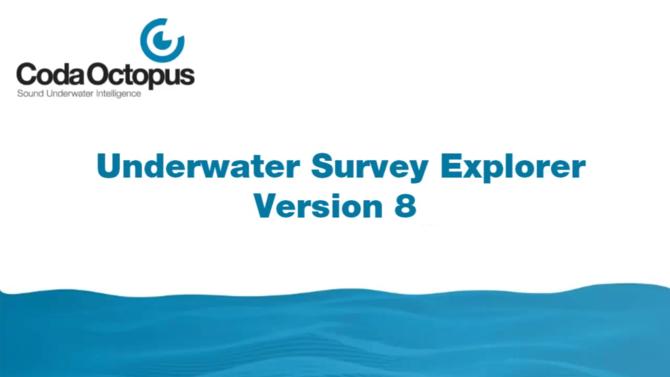 CodaOctopus® Underwater Survey Explorer (USE) :: Coda
