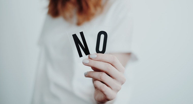 Appropriate Instances to Say No at Work
