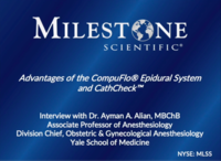 Video Interview with Dr. Ayman A. Alian, Division Chief of Obstetric & Gynecological Anesthesiology at Yale School of Medicine