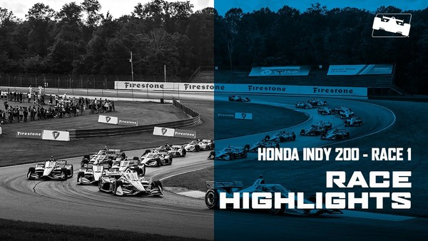 2020 Honda Indy 200 at Mid-Ohio Race 1 Highlights